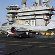 An Ea-6b Prowler Makes An Arrested Poster