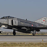 An F-4 Phantom Of The Turkish Air Force Poster
