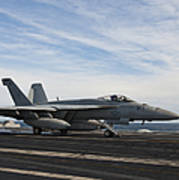An Fa-18f Super Hornet Takes Poster by Stocktrek Images