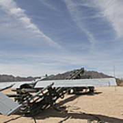 An Rq-7 Shadow Unmanned Aerial Vehicle Poster