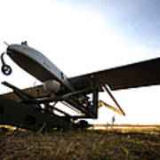 An Rq-7b Shadow Unmanned Aerial Vehicle Poster
