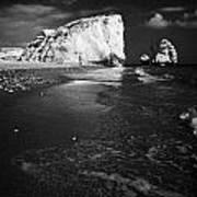 Aphrodites Rock Petra Tou Romiou Republic Of Cyprus Europe Poster by Joe Fox