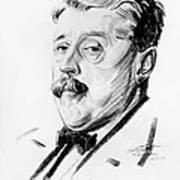 Arnold Bennett (1867-1931) Poster