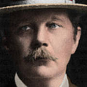Arthur Conan Doyle, Scottish Author Poster