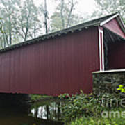 Ashland Covered Bridge Poster