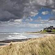 Bamburgh Castle Northumberland, England Poster by John Short