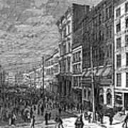 Bank Panic, 1873 Poster
