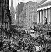 Bank Panic, 1884 Poster