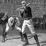 Baseball, 1888 Poster