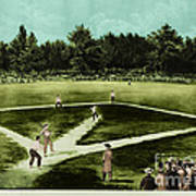 Baseball In 1846 Poster by Omikron