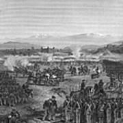 Battle Of Molino Del Rey Poster by Granger