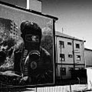 Battle Of The Bogside Mural Derry Poster