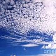 Beautiful Sky And Cloud Formation Poster