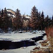 Beaver Creek Poster by W  Scott Fenton