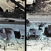 Before And After Hurricane Eloise 1975 Poster