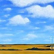 Big Sky Prairie Poster by Holly Donohoe
