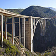 Bixby Bridge Crossing A Chasm Poster