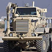 Buffalo Mine Protected Vehicle Poster