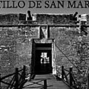 Castillo De San Marcos Poster by David Lee Thompson