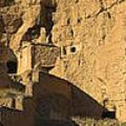 Cave Dwellings Poster