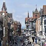 Chester City Centre Poster
