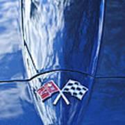 Chevrolet Corvette Hood Emblem Poster