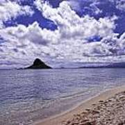 Chinaman S Hat From Kualoa Poster