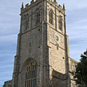 Christchurch Priory Bell Tower Poster