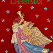 Christmas Angel Poster by Aimee L Maher Photography and Art Visit ALMGallerydotcom