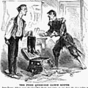 Civil War Cartoon Poster