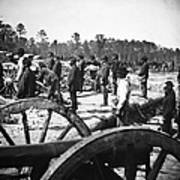Civil War: Union Artillery Poster