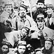 Civil War Volunteers 1861 Poster