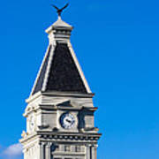 Clarksville Historic Courthouse Tower Poster