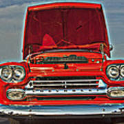 Classic Chevy Poster