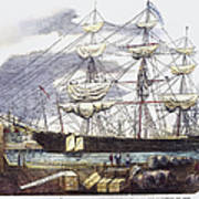 Clipper Ship, 1851 Poster