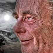 Close-up Profile Robert John K. Poster