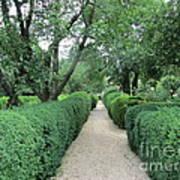 Colonial Garden Path Poster