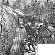 Colorado: Pikes Peak, 1867 Poster