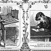 Correct Writing Position Poster