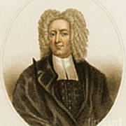 Cotton Mather, American Minister Poster