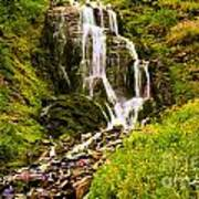Crater Lake Falls Poster