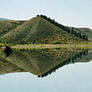 Cromwell Dam Reflections Poster
