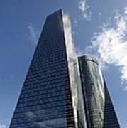 Ctba Skyscrapers, Madrid Poster