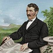 David Livingstone, Scottish Explorer Poster