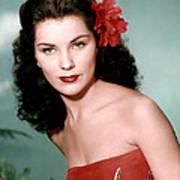 Debra Paget, Ca. 1950s Poster