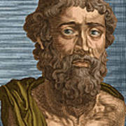 Demosthenes, Ancient Greek Orator Poster
