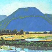 Derr Mountain Poster by Robert Bissett