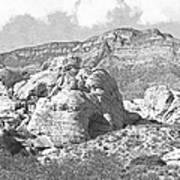 Desert Hikers Poster