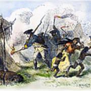 Destroying Villages, 1791 Poster