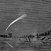 Donatis Comet, 1858 Poster